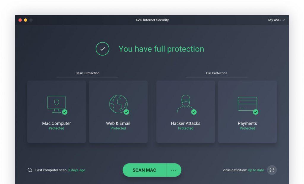 AVG comparatif antivirus Mac