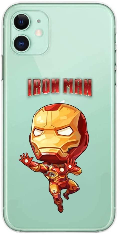 coque iPhone 11 Iron Man