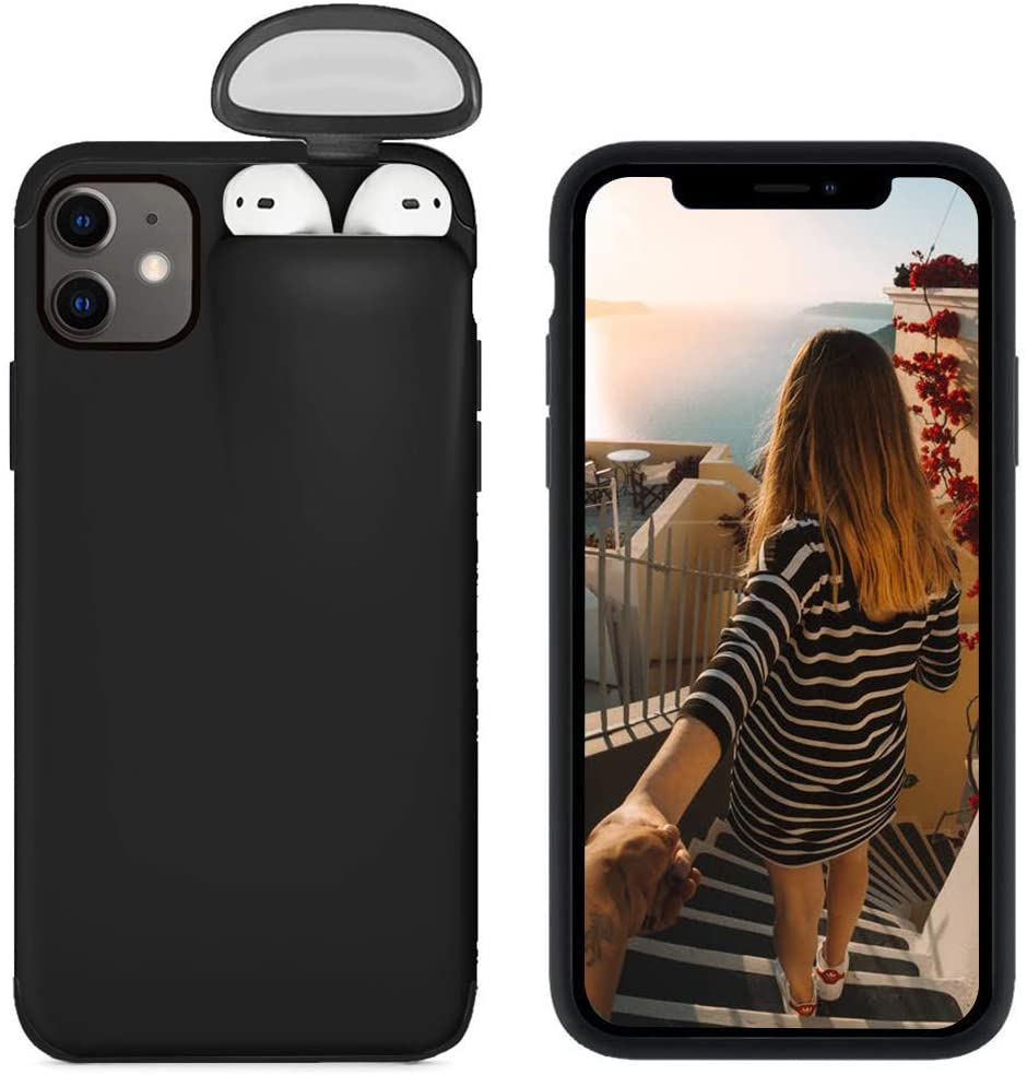 coque iPhone 11 AirPods
