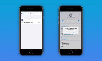 navigateur défaut iOS 14