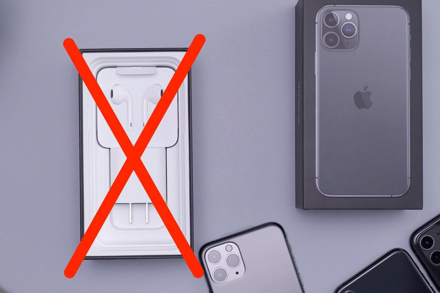 écouteurs et chargeur pour iPhone