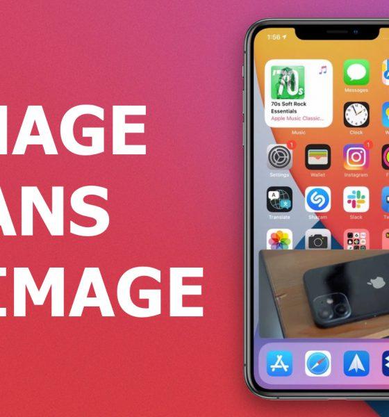 Tutoriel iOS Image dans l'image
