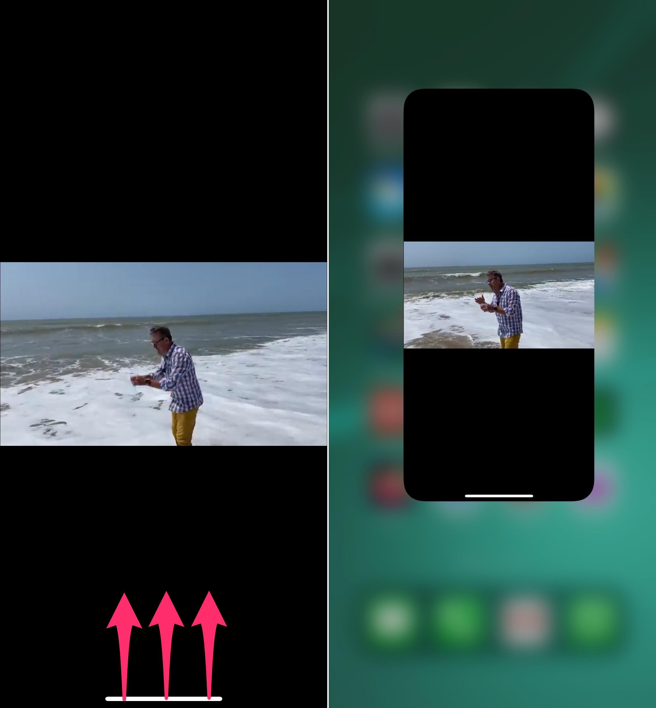 iPhone: fonction image dans l'image