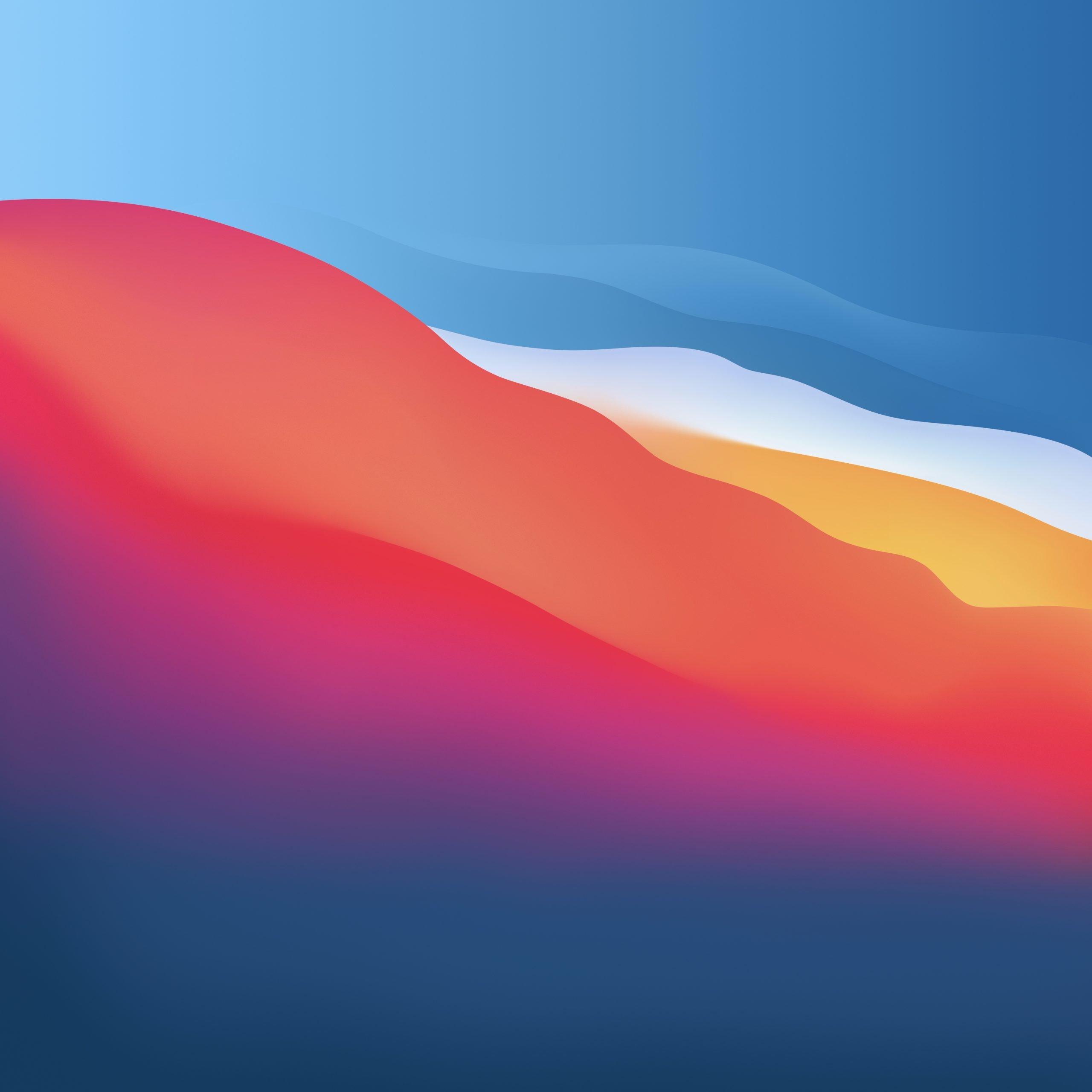Macos Big Sur Ou Telechargez Les Fonds D Ecran Officiels Pour Mac Iphone Et Ipad