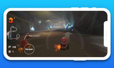 Mario Kart Tour en paysage