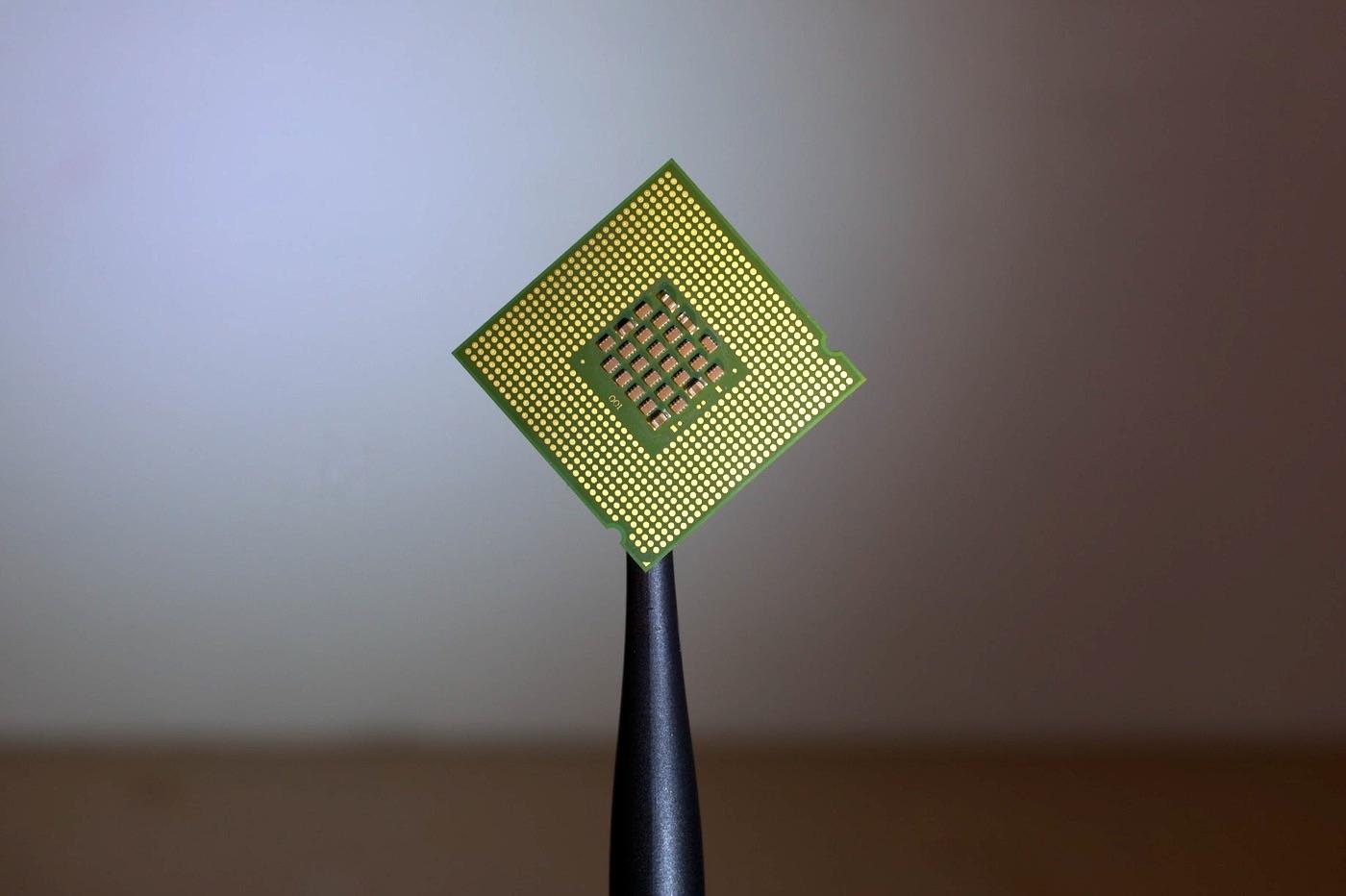 Puce CPU processeur