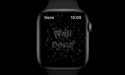 watchOS 7 suivi lavage mains