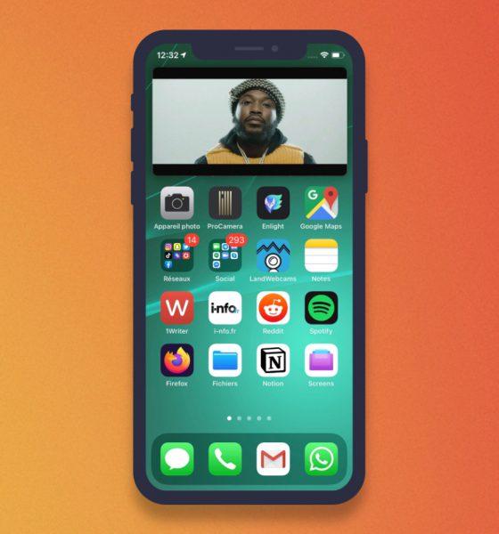 Image dans l'image iPhone