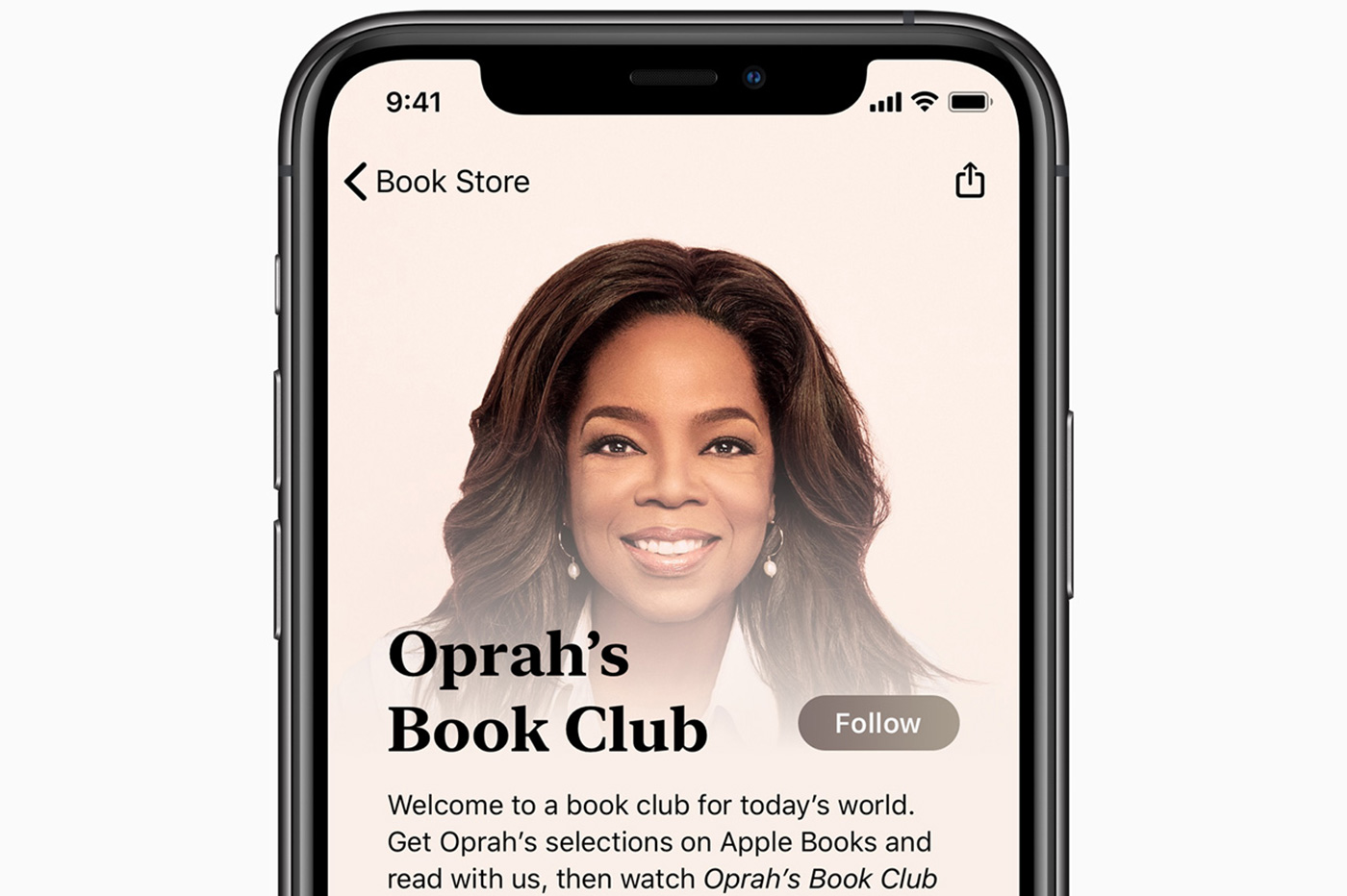 Apple Oprah Winfrey
