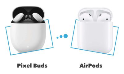 Comparatif Google Pixel Buds vs AirPods 2