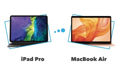 Comparatif et différences iPad Pro vs MacBook Air