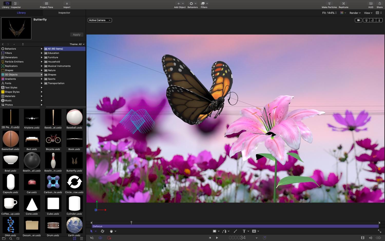 Apple Final Cut Pro X et montage