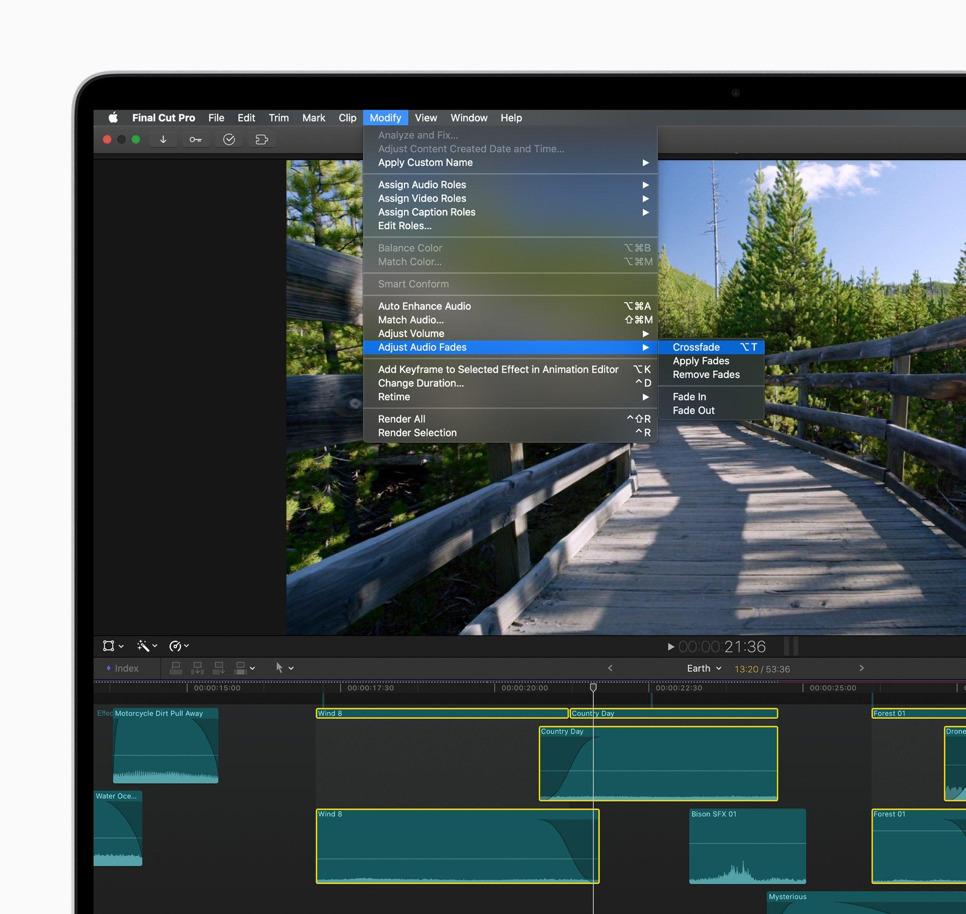 Apple Final Cut Pro X mise à jour