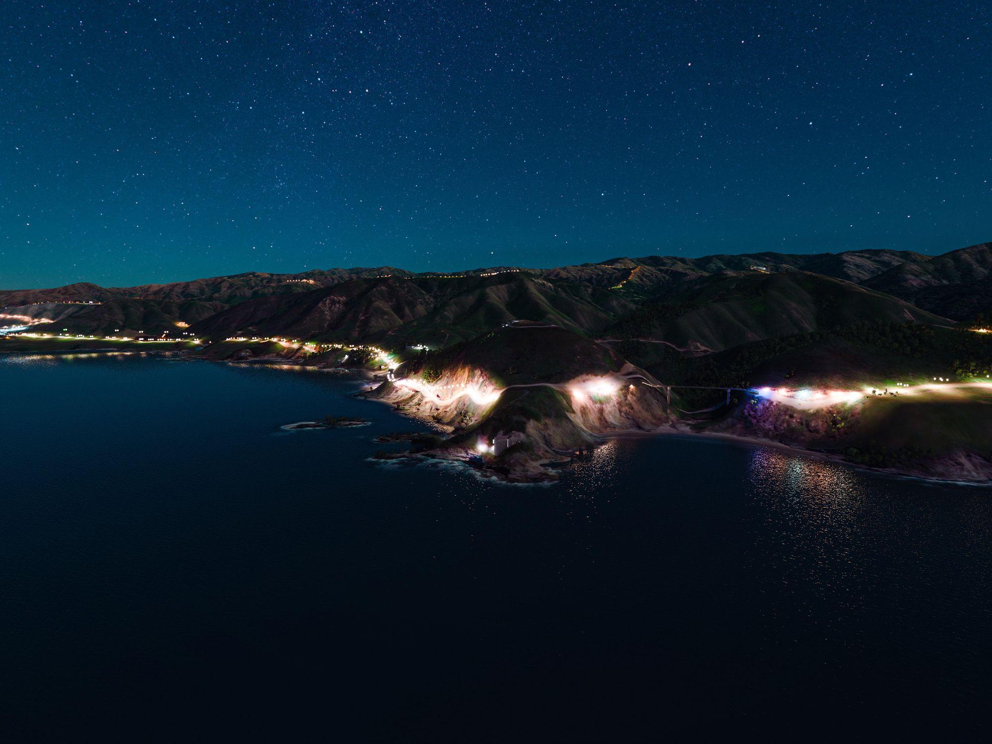 fond d'écran Microsoft Flight Simulator macOS Big Sur