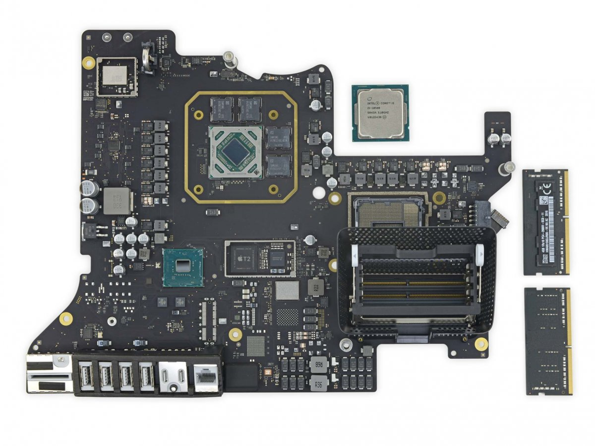 iMac 27 pouces démontage iFixit et carte mère
