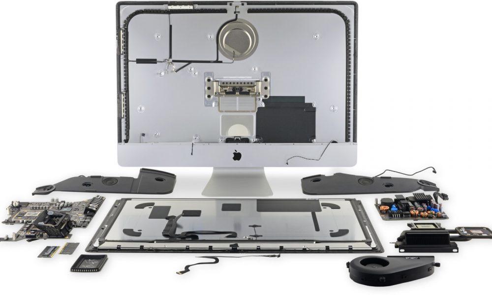 iMac 27 pouces par iFixit