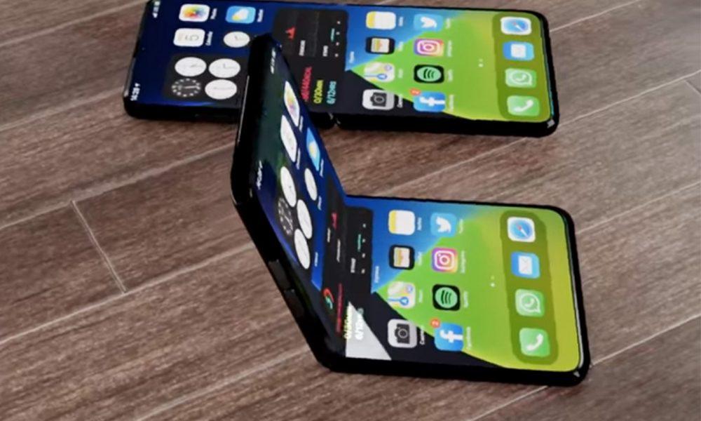 iPhone 12 pliable concept