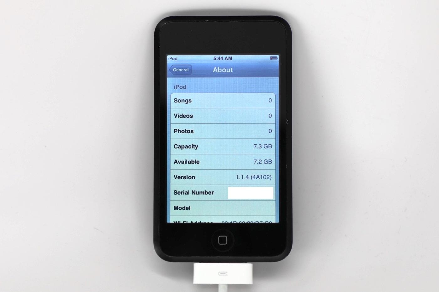 Prototype iPod touch 2007