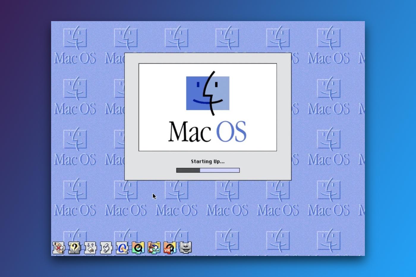 macOS 8 émulateur