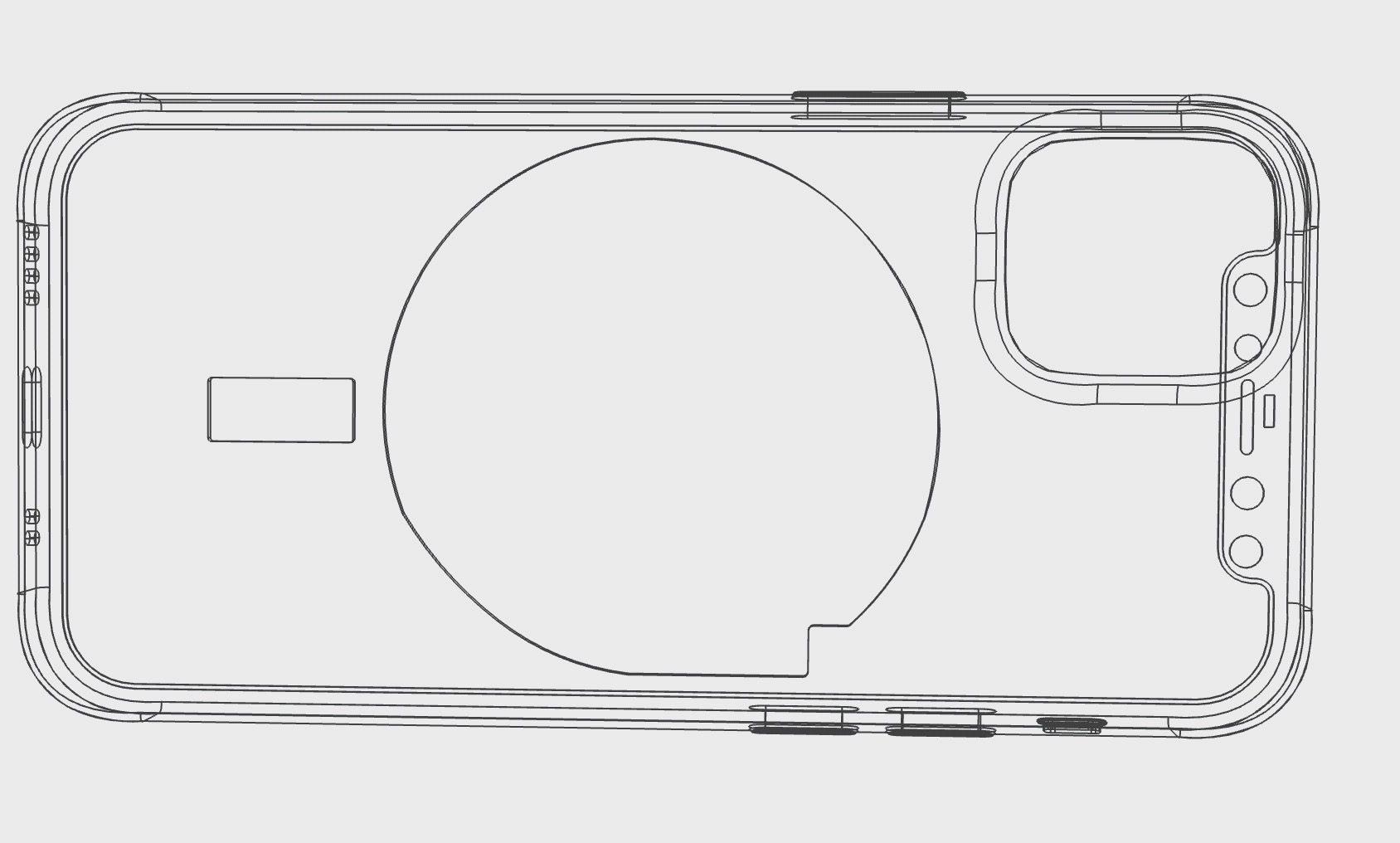 Recharge sans fil avec aimants sur l'iPhone 12