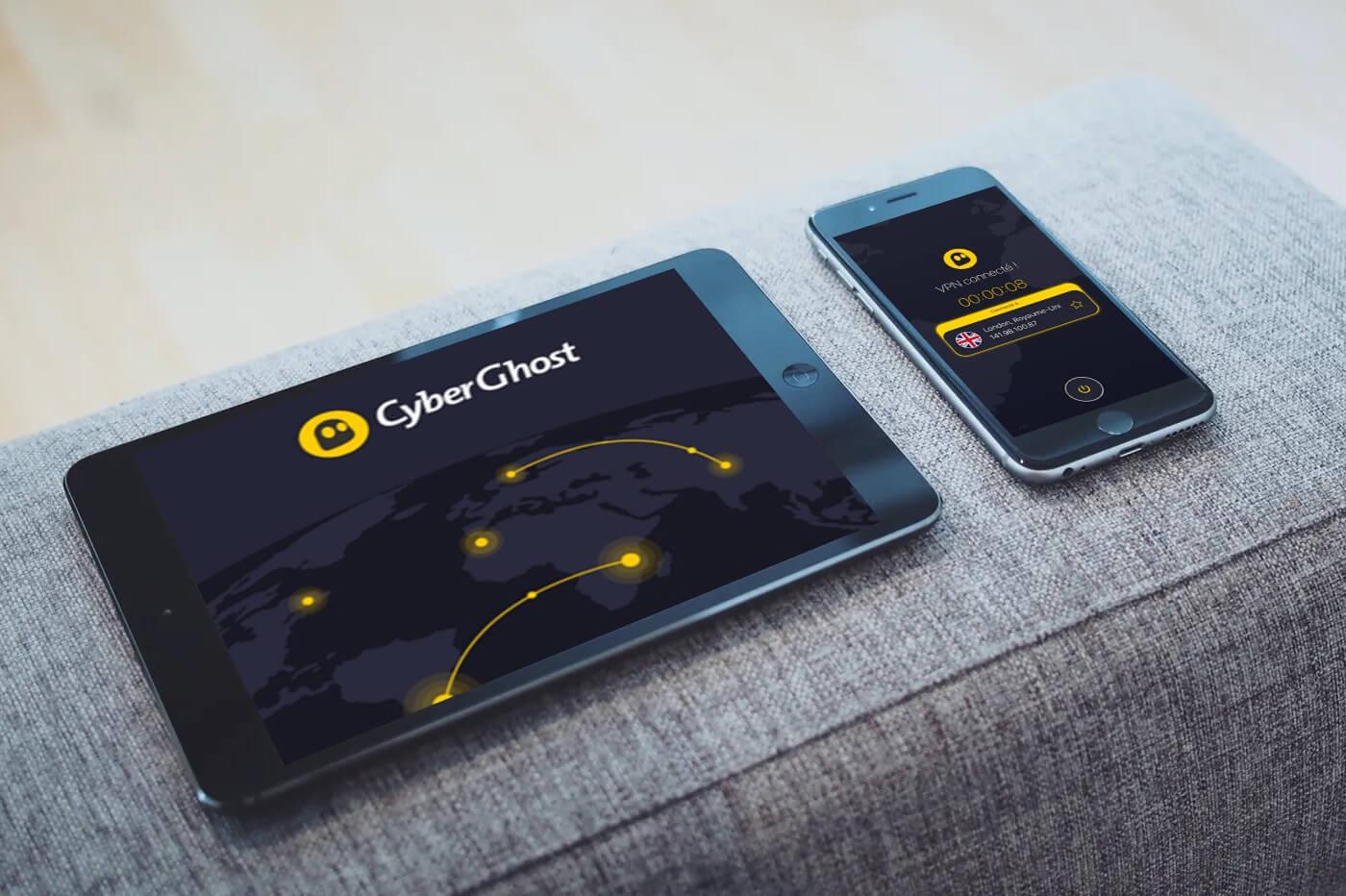 Nombre appareils CyberGhost