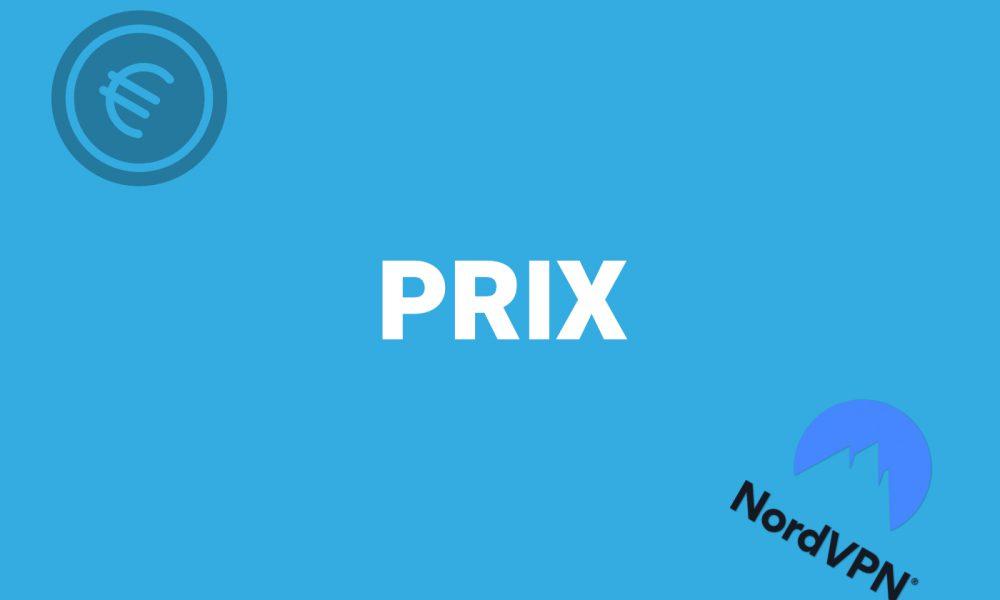 Prix NordVPN