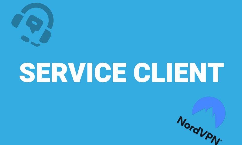 Service client NordVPN