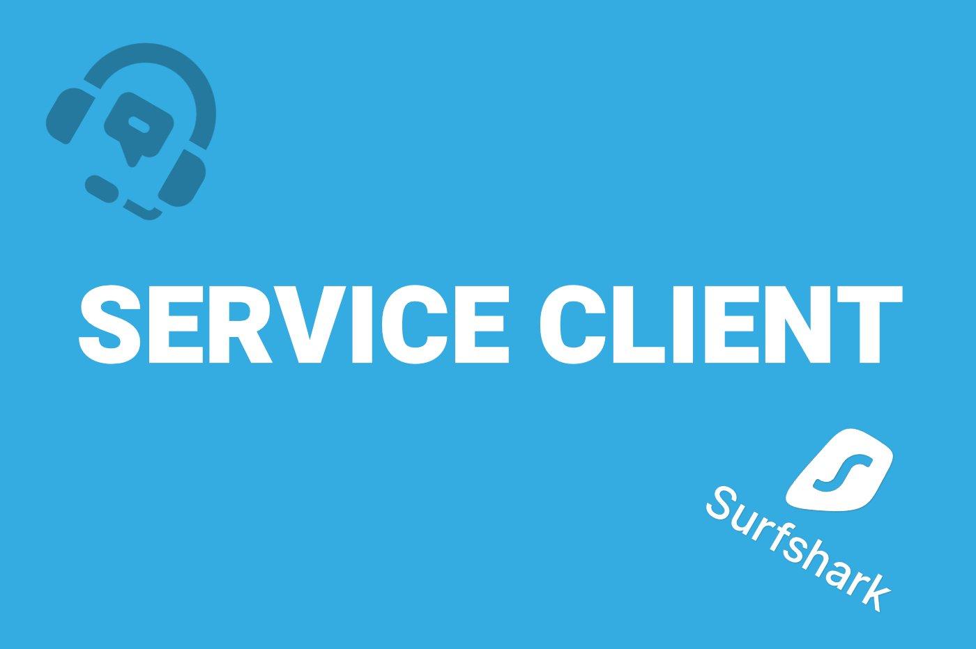 Service client Surfshark
