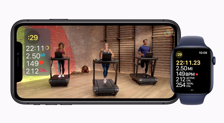 Apple Fitness+ sur iPhone et Watch