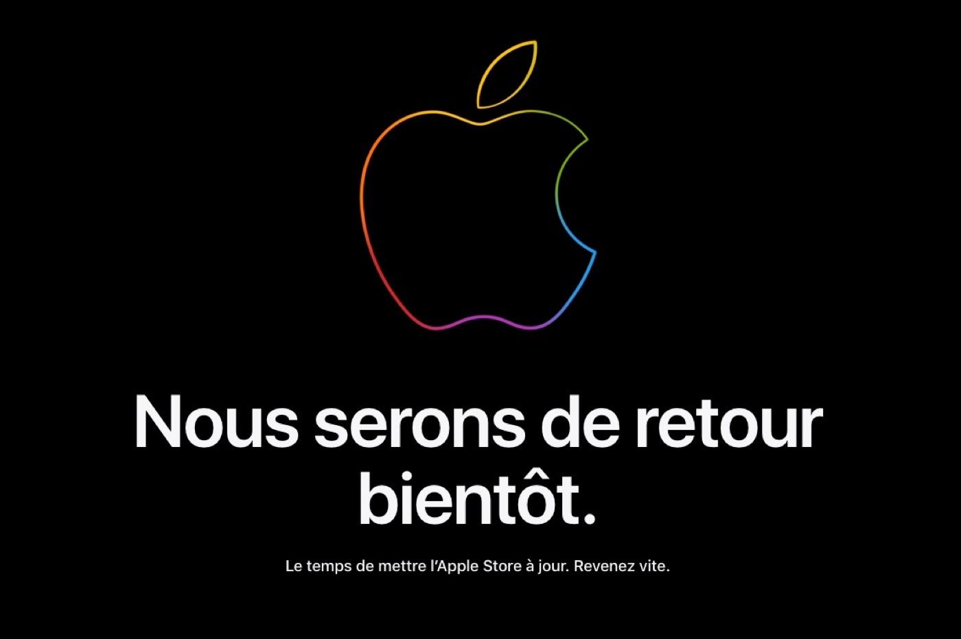 Apple Store fermé