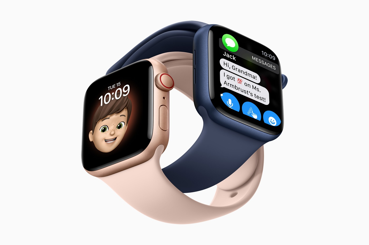 apple watch famille