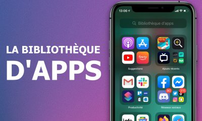 Bibliothèque d'apps
