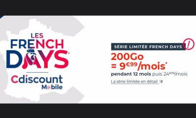 Cdiscount Mobile 200 Go pour 10 euros