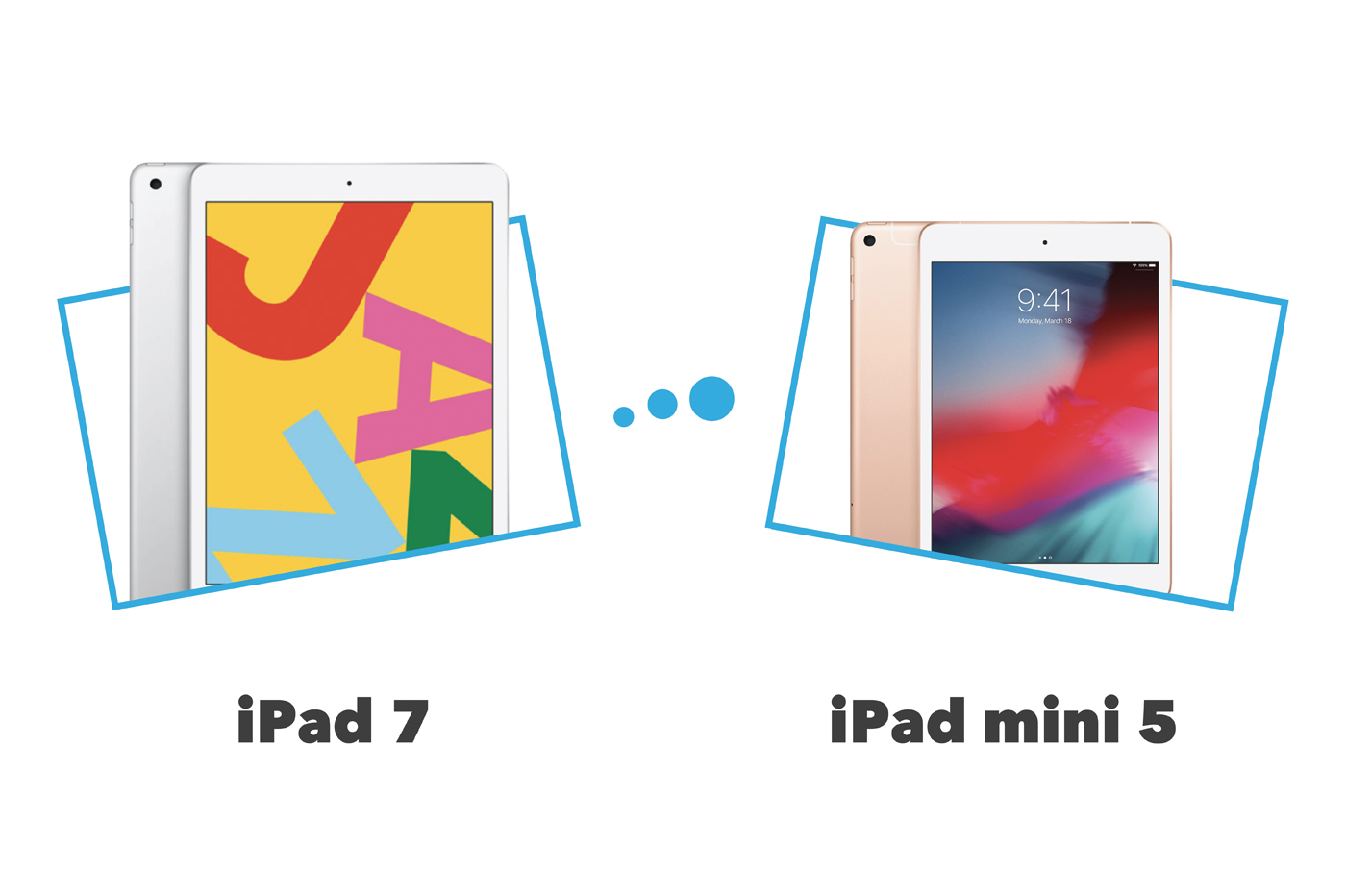 iPad mini vs iPad comparatif et différences