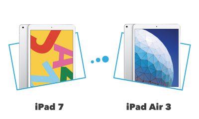iPad Air 3 vs iPad 7 : comparatif et différences