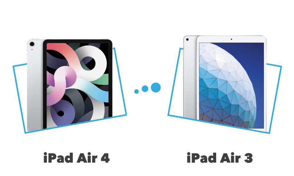 Comparatif iPad Air 4 vs iPad Air 3