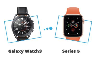 Apple Watch Series 5 vs Samsung Galaxy Watch3 : comparatif et différences