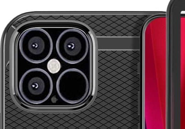 Coque iPhone 12 capteur photo