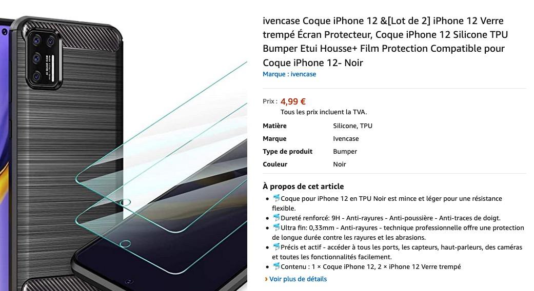 © Coque iPhone 12 et design photo