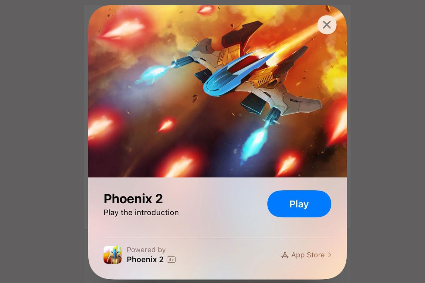 Extrait d'app