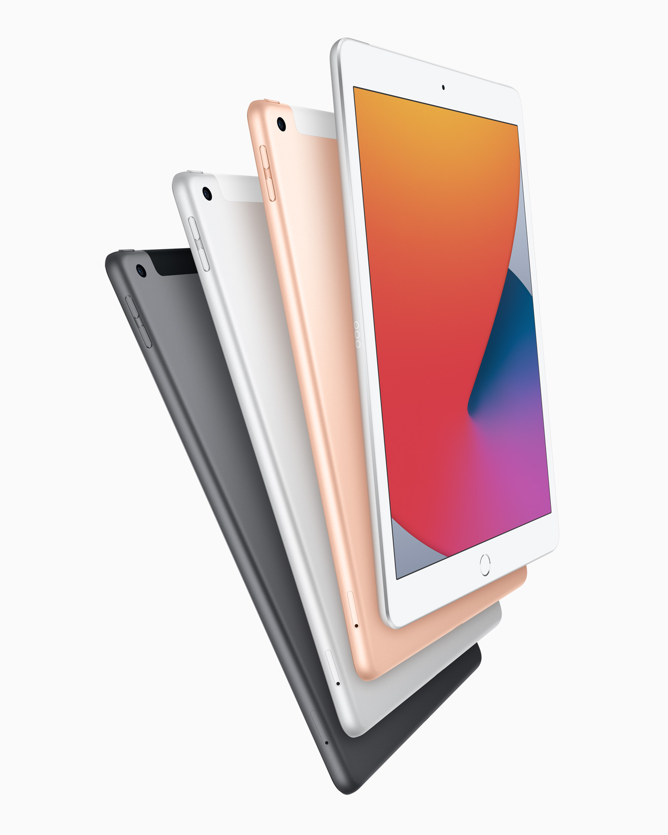 iPad de 8e génération et couleurs