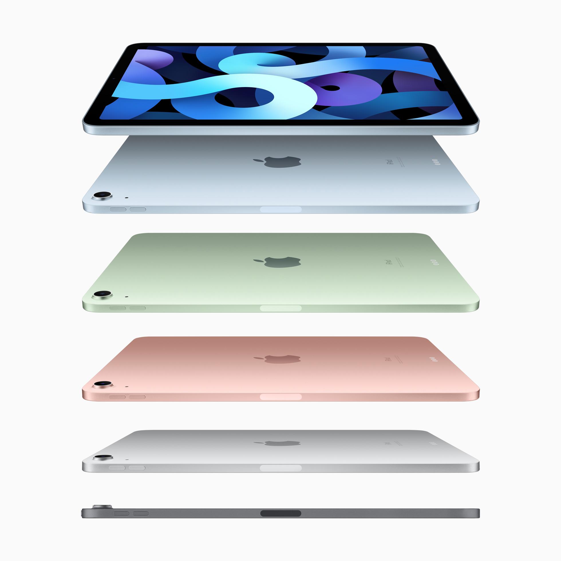 Coloris iPad Air 2020