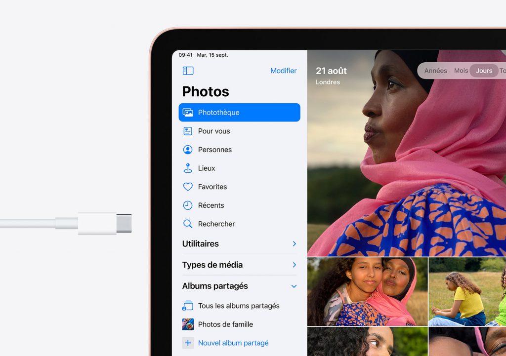 iPad Air 2020 comparatif