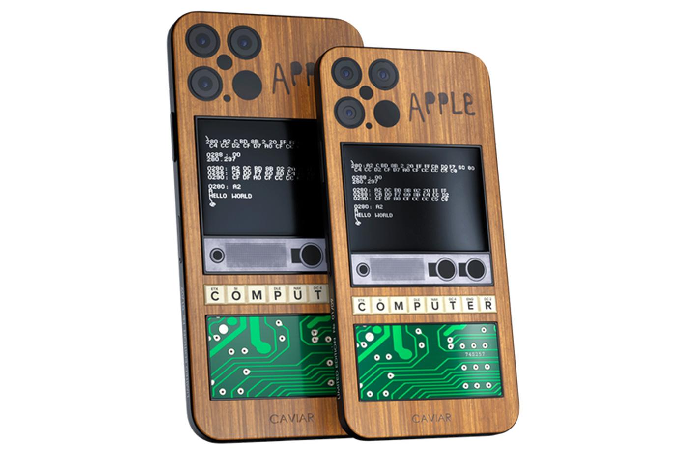 iPhone 12 Apple 1 Caviar