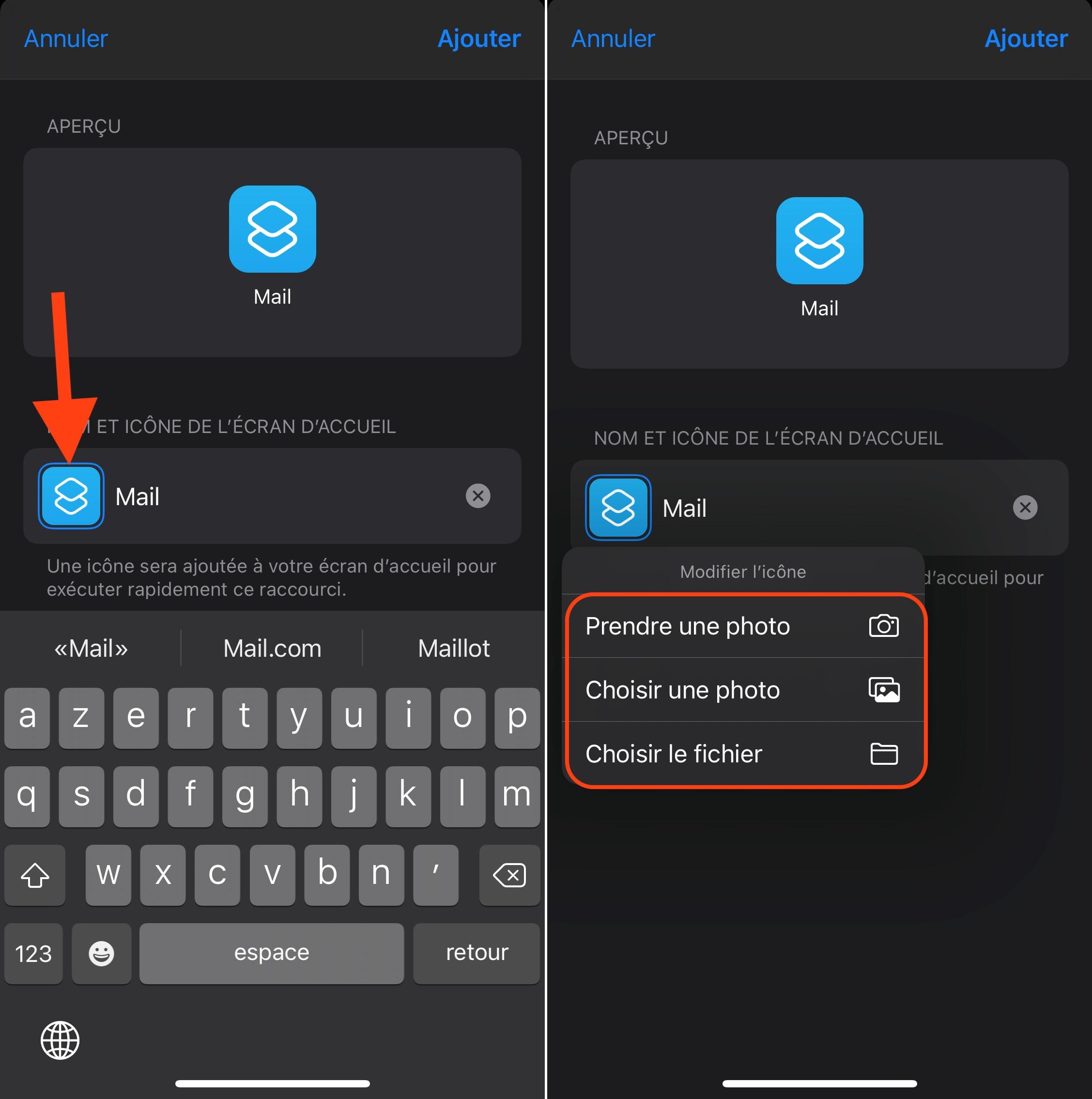 Comment remplacer l'icône d'une app sur iPhone et iPad