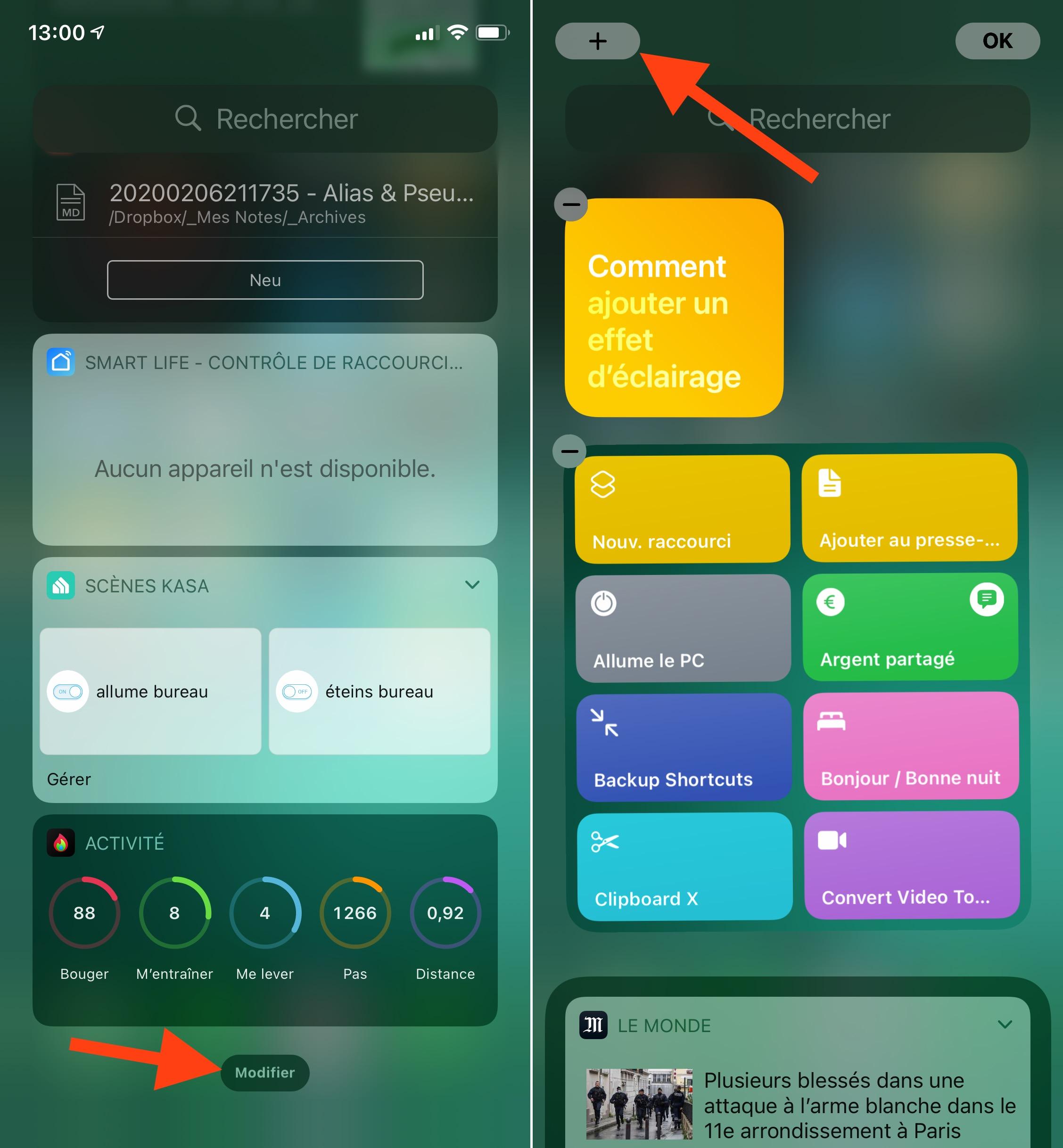 Tutoriel sur les widgets iOS