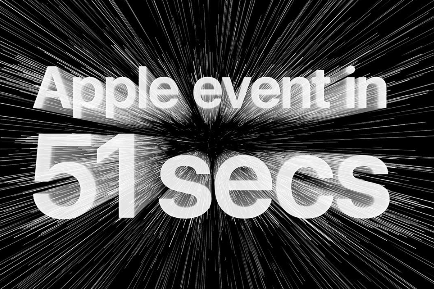 Resume Apple Event