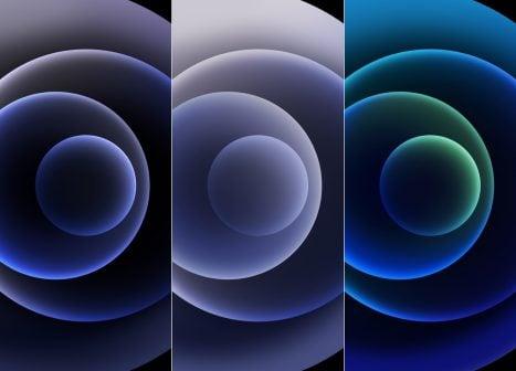 fond d'écran sombre iPhone 12