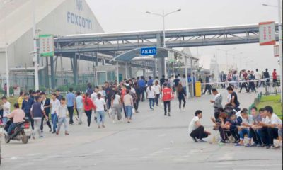usine Foxconn de Zhenghzou