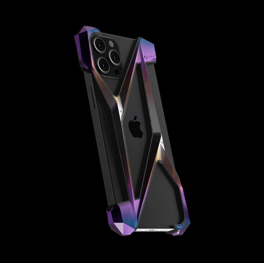 iPhone 12 Pro coque GRAY titanium